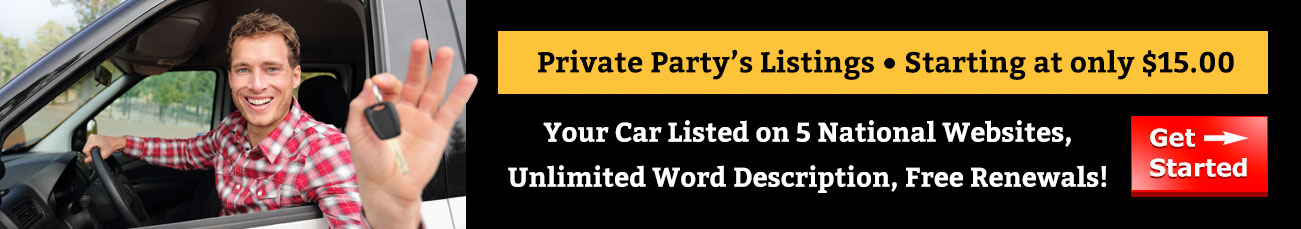 Private Party's listings - starting at only $15.00